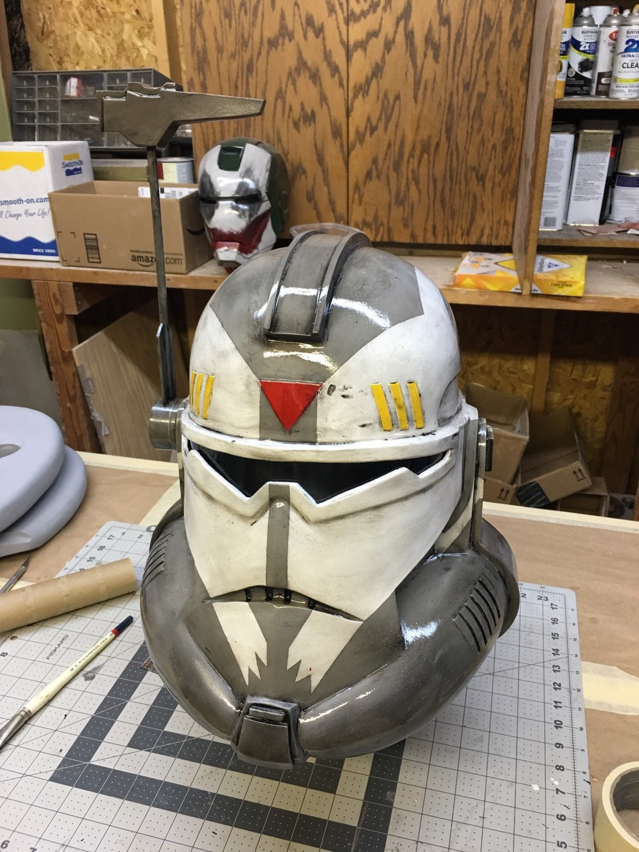 commander wolffe helmet star wars clone wars