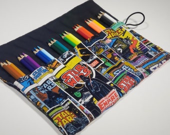 Star Wars Pencil Case Coloring Gift