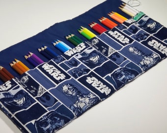 Star Wars Pencil Case, Holds 36 Colored Pencils Coloring Gift