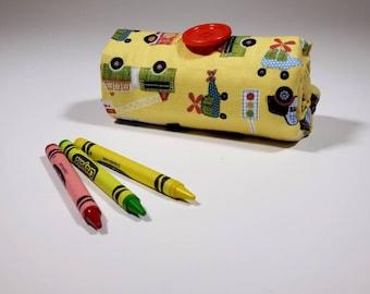 Rescue Crayon Case, Firefighter, Police, EMT Easter Basket Gift