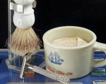 Vintage Shaving Bowl Etsy