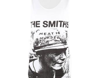 66627c918d8e62 The Smiths Morrissey White T Shirt Tank Tops Men Women M