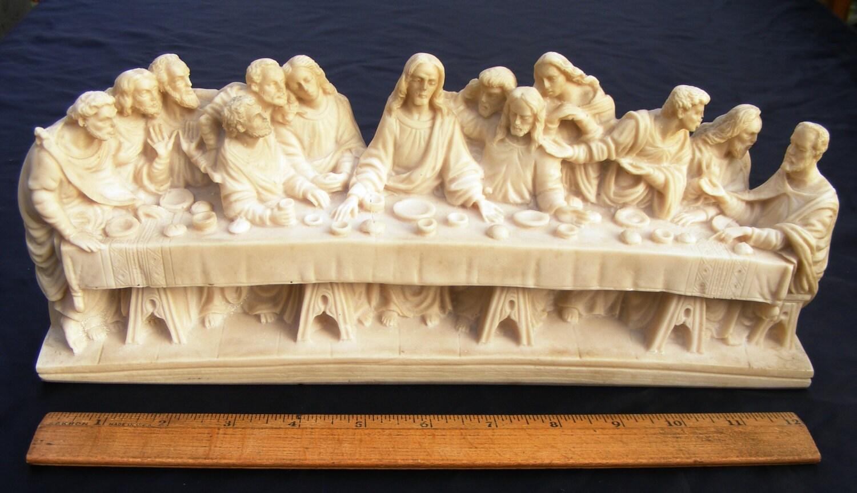 Leonardo Da Vinci\'s The Last Supper Jesus