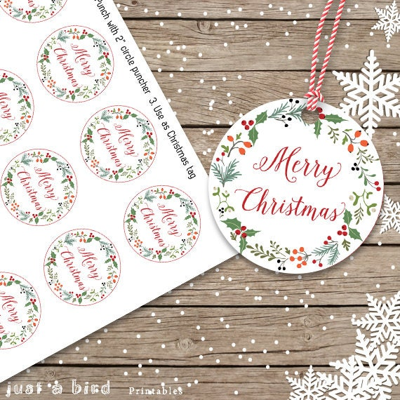 FESTIVE CANDLES A HAND STITCHED GIFT TAG CARD TOPPERS?