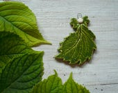 green leaf ceramic Angel-Angel Christmas tree decoration-Angel-leaf-ceramic wall decoration-friend-gift idea