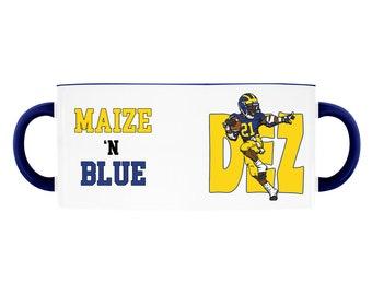 Dez Maize N Blue Accent Mug