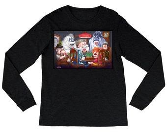 Christmas Cards Women's Long Sleeve Shirts