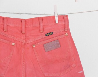 Up Cycled High Waisted Vintage Wrangler Cut Offs