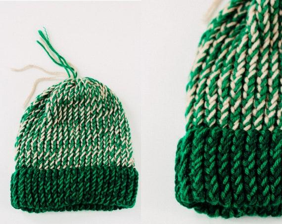 Vintage Hand Knit Beanie