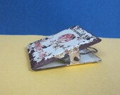 Vintage metal clip. Vintage retro office supplies. Braithwaite Old Catterick. Vintage chippy shabby metal spring clip. Paper clip.