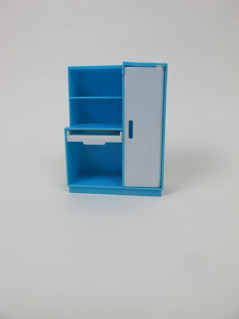 Puppenhaus Möbel Küche Speisekammer Blau Und Weiß Gemacht Etsy