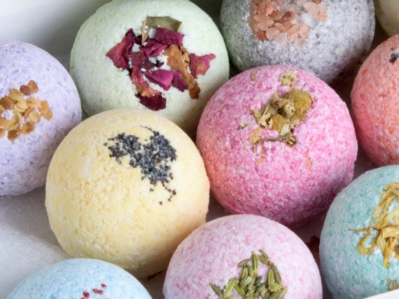 Image result for natural bath bombs