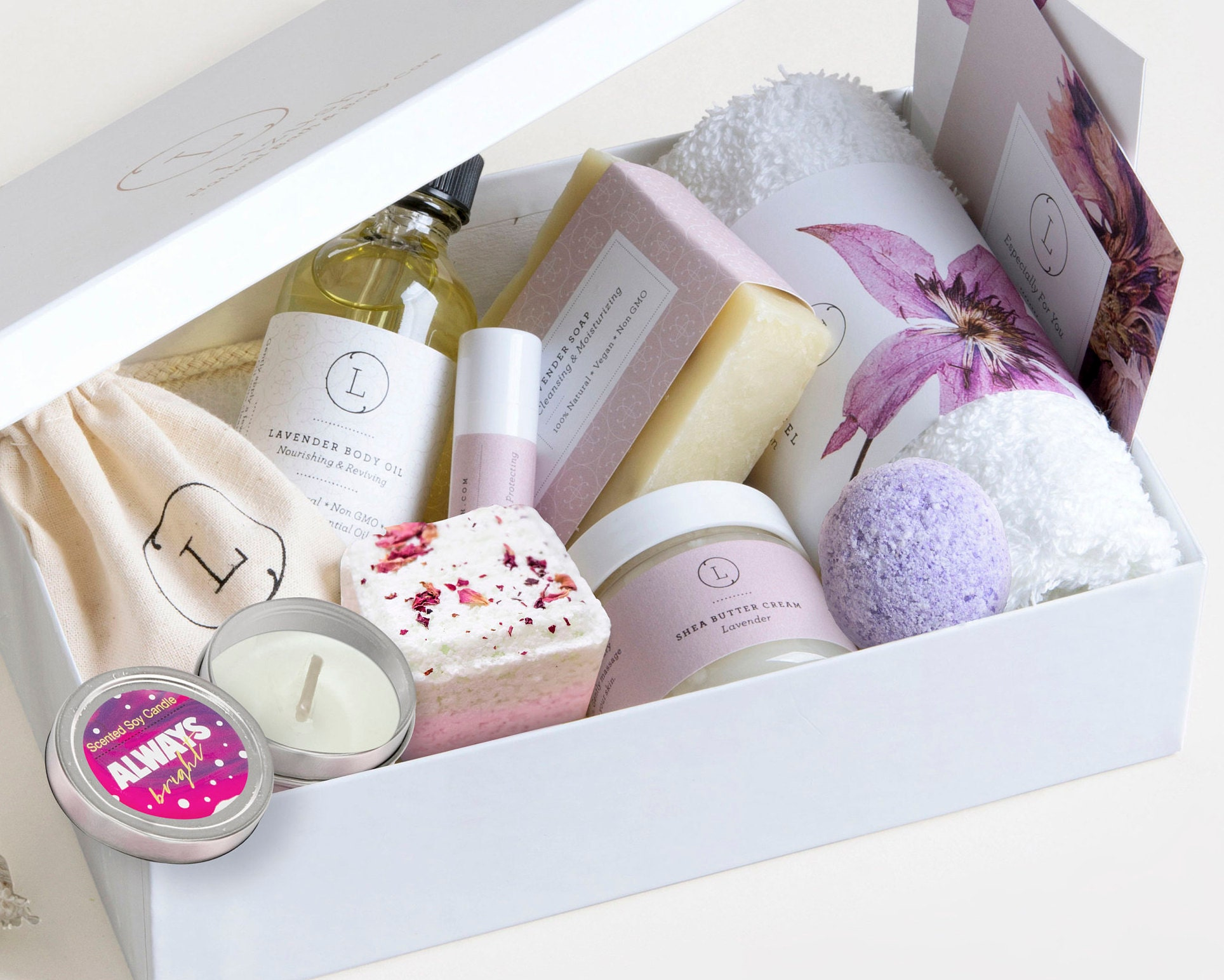 Mom Gift Ideas For Mothers Day Box Spa