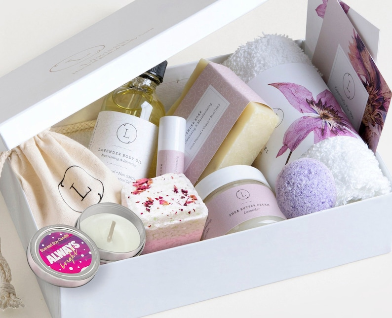Best Friends Gift Friendship Box Relaxation Spa Friend Bath BFF Birthday Recovery Get Well Soon