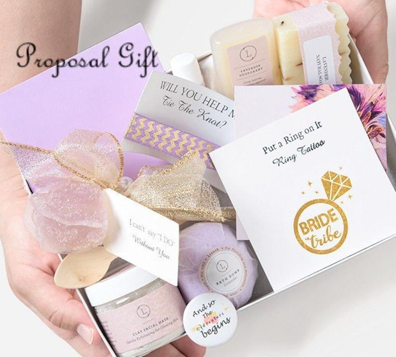 image 0 & 6 SETS bridesmaid proposal bridesmaid proposal box   Etsy