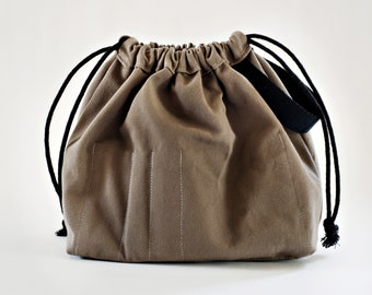 Mushroom FIELD BAG craft project bag