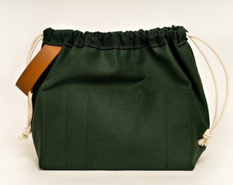 SPRUCE FIELD BAG craft project bag