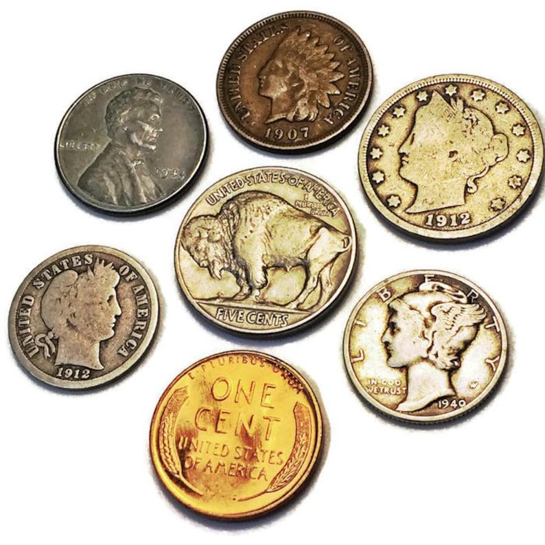 Coin Collection / 7 Rare Coins Set / Collector Set / US Coins image 1