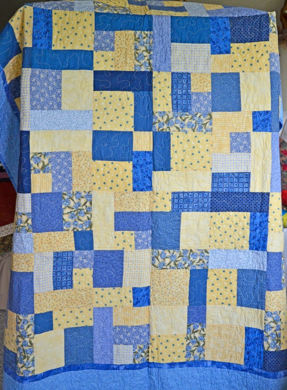 Yellow Brick Road Quilt Free Shipping Etsy
