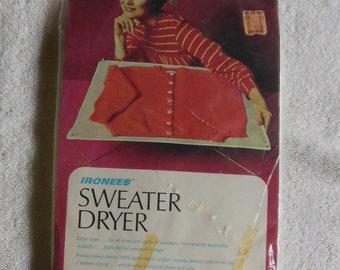 Vintage Sweater Dryer Drying Rack Ironees Folds Flat