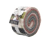 The Christmas Card Jelly Roll by Sweetwater for Moda Fabrics. 5770JR