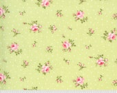 Sophie Yardage by Brenda Riddle of Acorn Quilts for Moda Fabrics 18711 15 Medium Floral Sprout Green