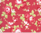 Sophie Yardage by Brenda Riddle of Acorn Quilts for Moda Fabrics 18710 13 Main Floral Rosey