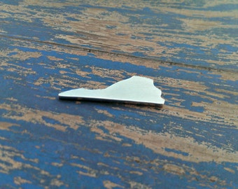 Aluminum Virginia Stamping Blanks - Qty 1