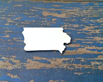 Aluminum Iowa Stamping Blanks -  Qty 1