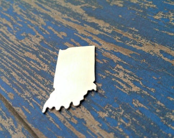 Aluminum Indiana Stamping Blanks - Qty 1