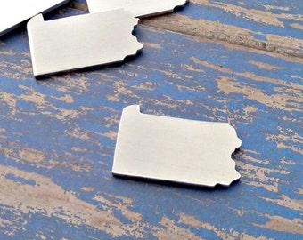 Aluminum Pennsylvania Stamping Blanks - Qty 1