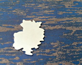 Aluminum Germany Stamping Blanks - Qty 1