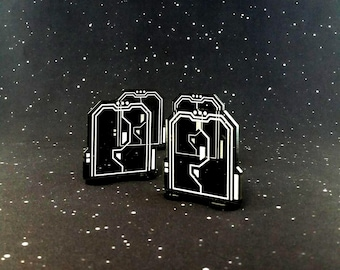 Acrylic Door Tokens for use with Imperial Assault (4 pieces)