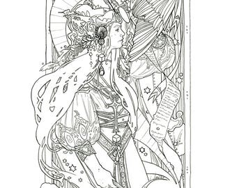 Ponyo Coloring Book by Tadanobu Miyahira | 270x340