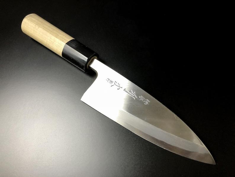 ARITSUGU Deba bleu acier filet cuisine japonais chef couteau 120 mm 4,72  \