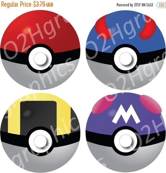 pokemon clipart pokeball clip art vector clipart digital rh etsystudio com pokemon clip art black and white pokemon clip art black and white