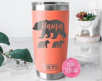 Mama Bear Cup Etsy