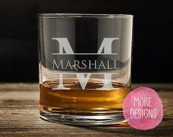 Personalised GRANDAD/'S WHISKEY GLASS Engraved  Tumbler Whisky Glass Christmas 43