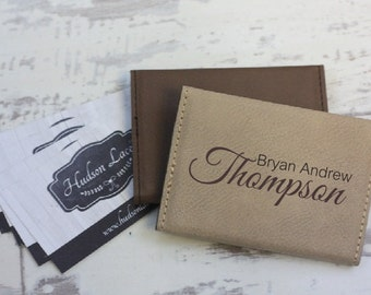 Engraved Business Card Holder, Personalized Business Card Holder, Business Card Holder, Corporate Gifts, Boss Gift, Fathers Day Gift, Gift