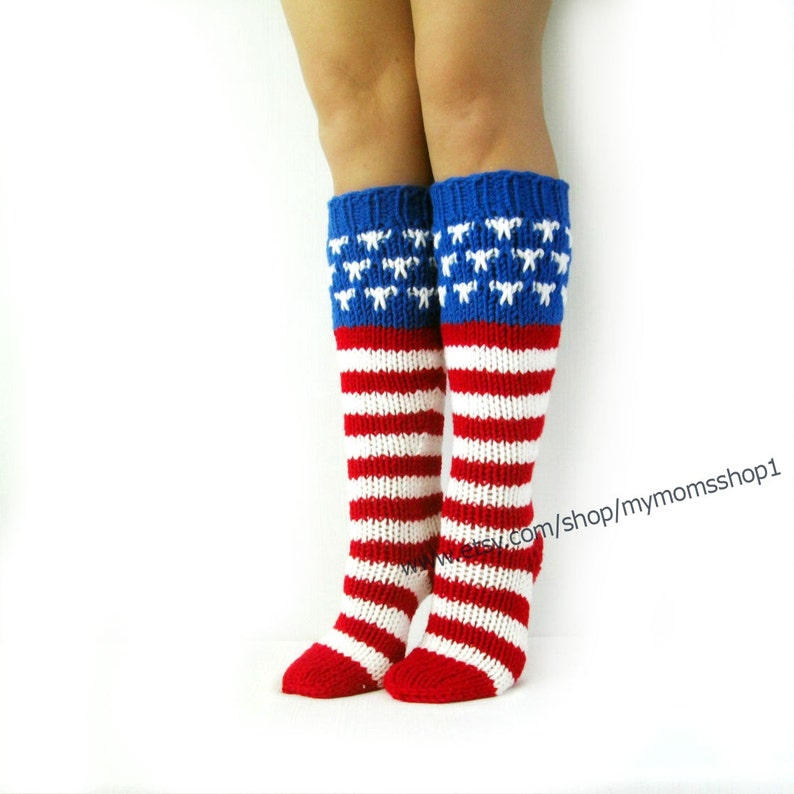 f19dce138 4th of July Accessories socks Independence Day. US Flag Day