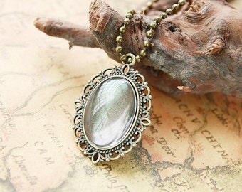 Wholesale-20pcs Antique Bronze/Antique Silver tone Oval Base Setting Tray Bezel Pendant  Charm/Finding,fit 30mmx40mm Cabochon/ Picture/Cameo