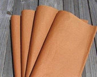 "Tissue Paper / 24 Sheets Orange Tissue/Burnt Orange/Paper 20""x30""/Bulk Premium Tissue Paper"