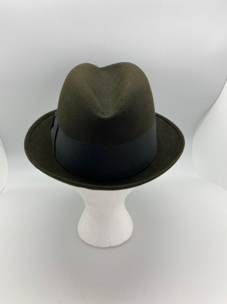 Men\u2019s Black Royal Stetson Fedora Hat Size 7