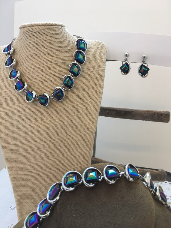 Space Age 1950's Jewelry set