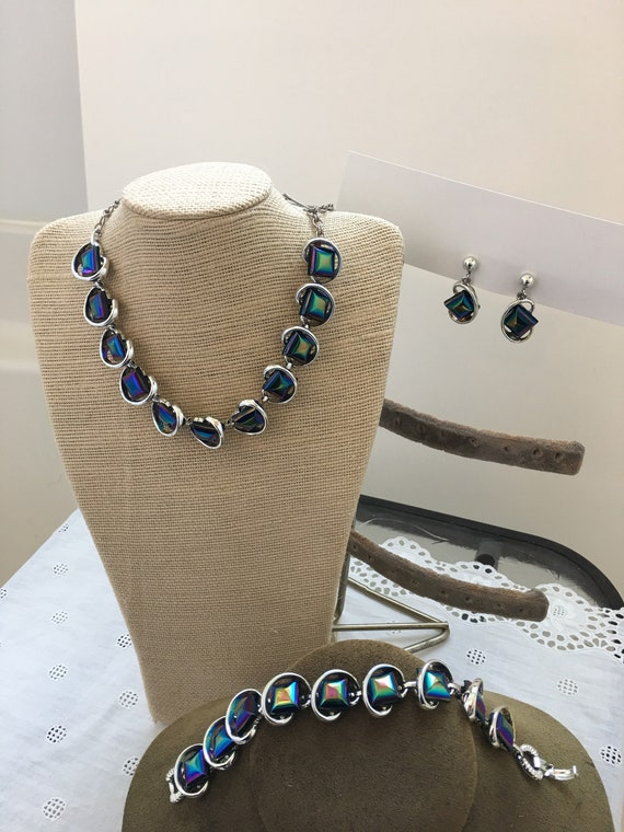 Space Age 1950's Jewelry set - image 6