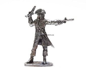 54mm Pirates of the Caribbean: Jack Sparrow 1/32 Miniature