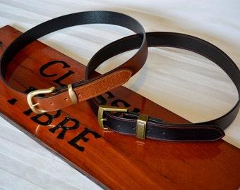 Hand Made Custom Leather Belt