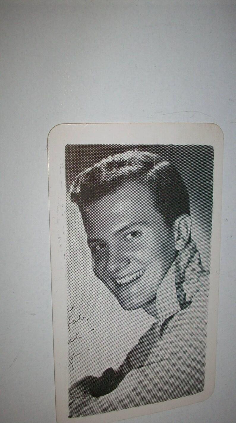 50s Pat Boone fan club membership card