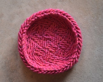 Unique Ply-Split Vessel, for special jewelry - Pink Tales