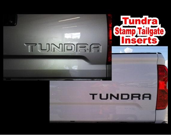 Toyota Tundra Insert Lettre 2014 2015 2016 2017 2018 Camion Etsy